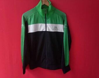 vintage kappa jacket fully zipper large mens