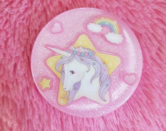 Fairy Kei Inspired Unicorn Pendant