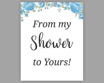 Magic image regarding from my shower to yours printable