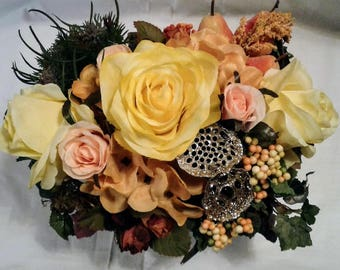 Small Drawer Floral Decor