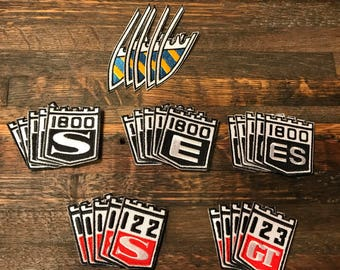 Vintage Volvo Embroidered Patches