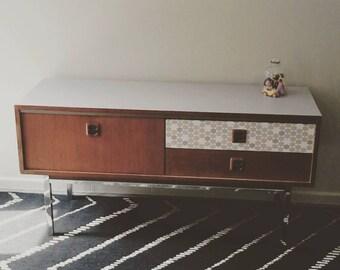 row vintage furniture