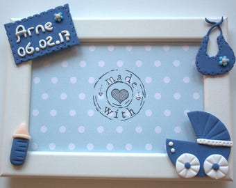 personalized picture frame baby