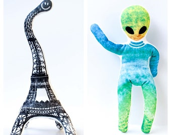 Parisaurus and YogAlien, Crazy and Funny Toys for Children
