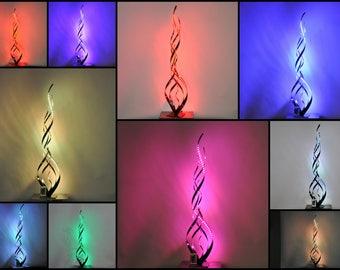 lampe de salon a LED multicolore