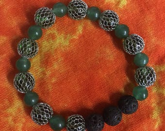 Green forest bracelet