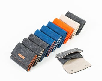 Mini purse, small purse, wallet, purse, men, kids wallet, school purse, felt, felt [Mira]