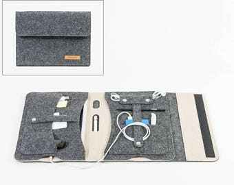 Organizer, portfolio, tablet case, ipad case, MoD tablet, tablet folder, tablet cover, tablet case, travel case [KOCO m]