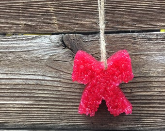 Bow Aroma Bead Car Air Fresheners!! Aroma Bead Melt - Aromies - Large Variety of Scents & Styles