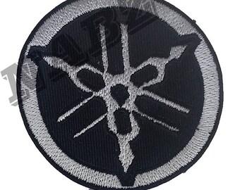 Yamaha Motorcycle Racing Embroidery iron sew on patch badge