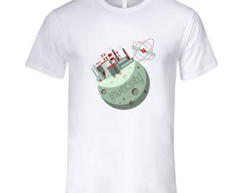 Inversity Lunar Base- Premium White T Shirt