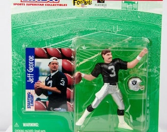 1997 Starting Lineup Jeff George Oakland Raiders Action Figure
