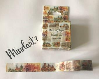 Masking Tape Vintage City