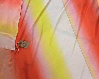 Jonathan Saunders Ombre 100% Silk Fabric