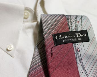 Christian Dior Monsieur Made in Canada Vintage Tie