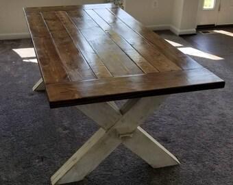 JF Crossroad Farm Table