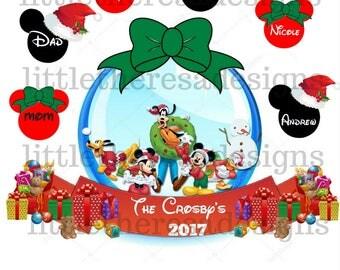 Merry Christmas From Family Transfer,Digital Transfer,Digital Iron On,Diy