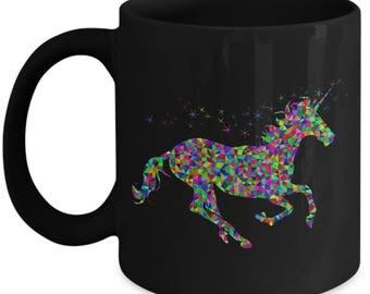 Unicorn Mug, Rainbow unicorn mug, unicorn coffee mug, rainbow unicorn, magical unicorn mug, gift for her, magical unicorn, unicorn mum