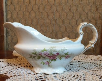 Vintage Gravy Boat by E. M. Knowles
