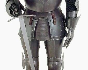 NauticalMart Black Knight Medieval Suit of Armor
