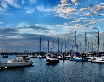 Williamstown, Boats, Sails, Melbourne, Australia, Fine Art Photography, Bayside, Sky,Travel