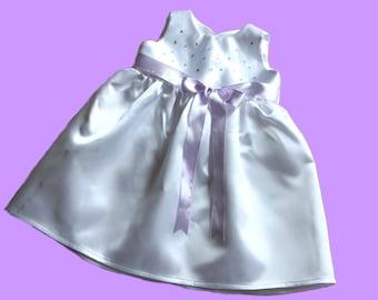 Christening dress Rhinestone dress lilac New Gr. 56,62,68,74
