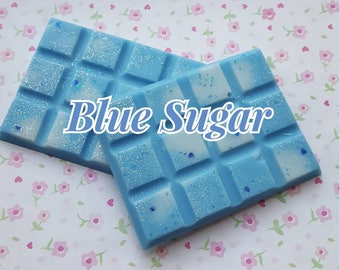 Blue Sugar Wax Melt Bar (Aquolina Dupe) Designer Perfume Wax Melts