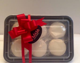 White Chocolate Alfajores