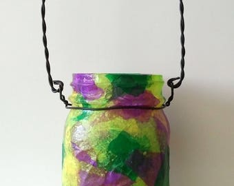 Summer Outdoor Hanging Mason Jar Luminary