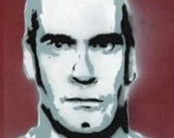 Henry Rollins Black Flag Portrait