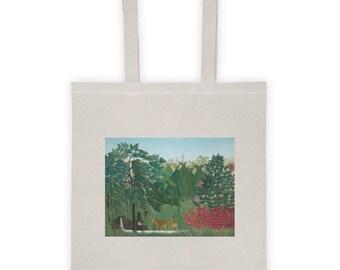 Henri Rousseau, The Waterfall - Tote bag
