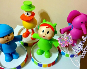 Urra duck Pocoyo and Eli