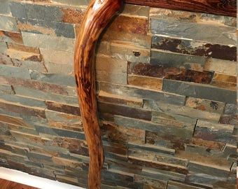 walking cane, wood cane,handcrafted wood cane