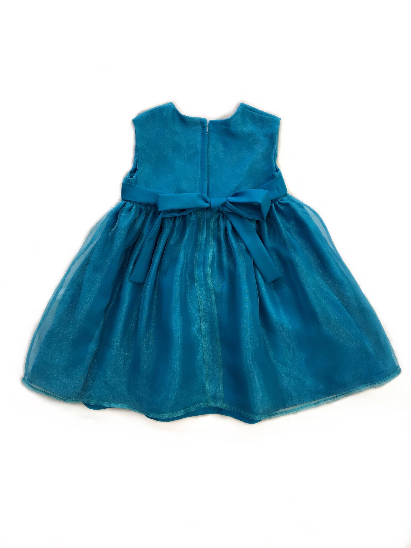 Flower girl dress, Headband, first birthday dress, formal dress ...