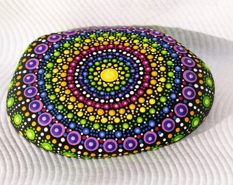 DotRock Rainbow Mandala