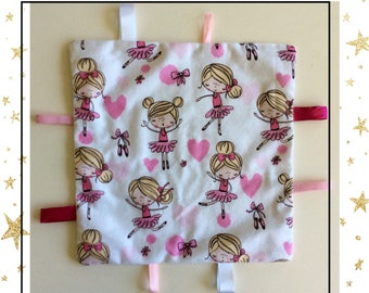 "Discovery ""Ballerinas"" baby blanket"