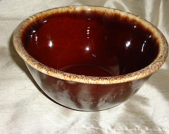 """Hull Brown Drip Oven Proof 7"""" Mixing Bowl"""