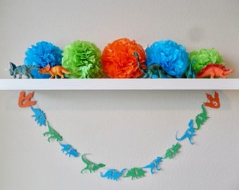 Dinosaur Garland (can be personalized!)