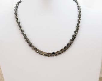 Exceptional necklace silver