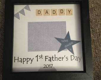 First Fathers Day Photo Frame 2017