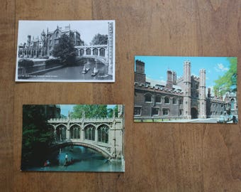 Vintage Cambridge University Postcards, St. John's College
