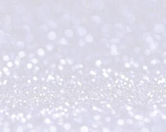 WHITE BIO GLITTER - Biodegradable Glitter - Festival Glitter-  Eco Friendly - Mermaid Glitter - Cosmetic Grade - Compostable - 375 microns