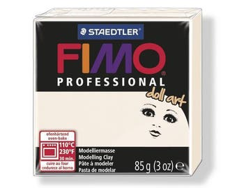 Fimo clay Professional 85 g porcelain 8027.03 - polymer clay Art Doll