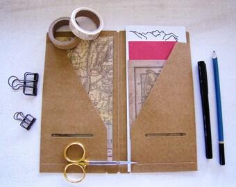 Teal Traveler S Notebook Refill