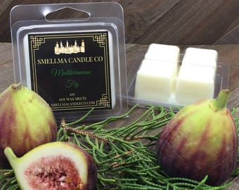 Mediterranean Fig Soy Wax Melts, Wax Melts, Soy Wax Melts, Soy Wax Tart, Soy Candle Melts, Wax Warmer, Scented Soy Tart, 4 Cubes