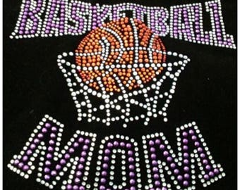 Basketball Mom Rhinestone T-Shirt