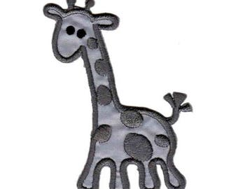 Black Giraffe Animal Patch W.Ch.Patch