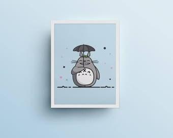 Poster / poster - Totoro