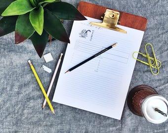 Printable Weekly Planning Page