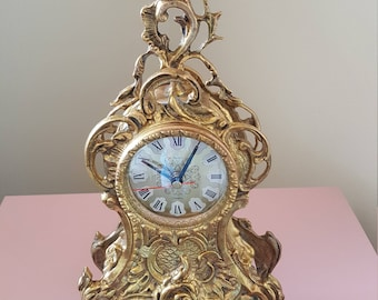 Magnificent French Style Mantle Clock